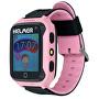 Chytré dotykové hodinky s GPS lokátorem a fotoaparátem - LK 707 růžové