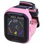 LK 709 4G růžové - dětské hodinky s GPS lokátorem, videohovorem, vodotěsné