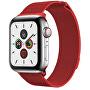 Ocelový milánský tah pro Apple Watch - Červený 38/40 mm