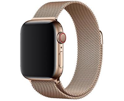 Apple Watch řemínek - milánský tah 44 mm