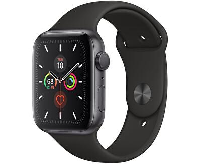 Watch Series 5 44mm vesmírně šedý hliník s černým sportovním řemínkem