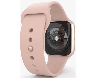 Watch Series 4 44mm zlatý hliník s pískově růžovým sportovním řemínkem
