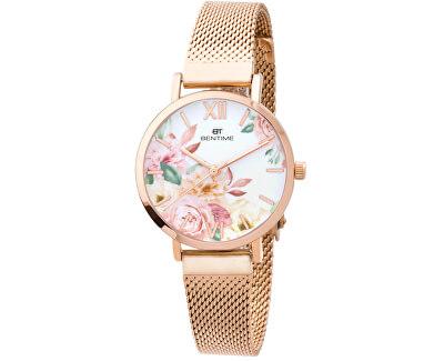 Dámské květinové hodinky 008-9MB-PT610119C