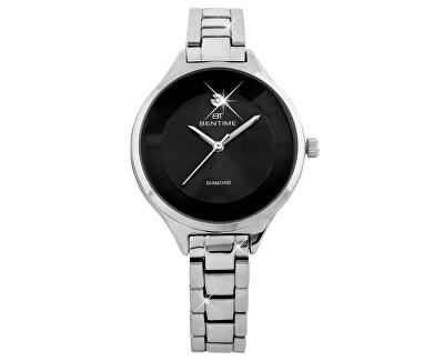 Dámské hodinky s diamantem 027-9MB-PT12102C
