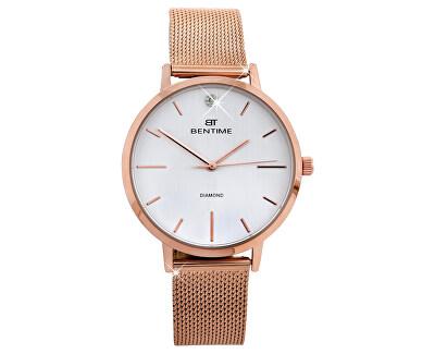 Dámské hodinky s diamantem 044-9MB-PT11894O