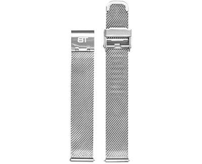 Kovový mesh s easy clickem - stříbrný