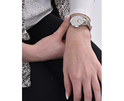 Dámské hodinky s diamantem 027-9MB-PT11894M