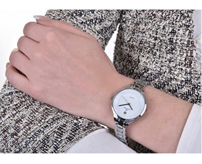 Dámské hodinky s diamantem 027-9MB-PT12102A