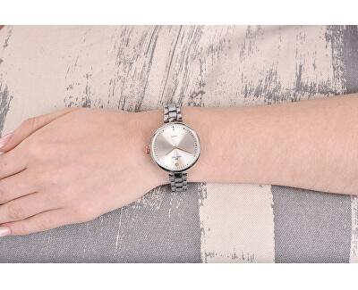 Dámské hodinky s diamantem 027-9MB-PT12103C