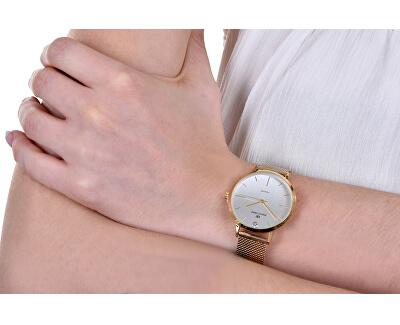 Dámské hodinky s diamantem 044-9MB-PT11894N