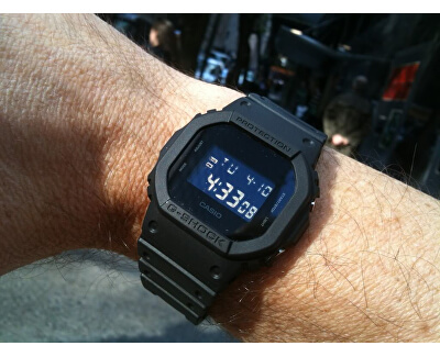 The G/G-SHOCK DW 5600BB-1