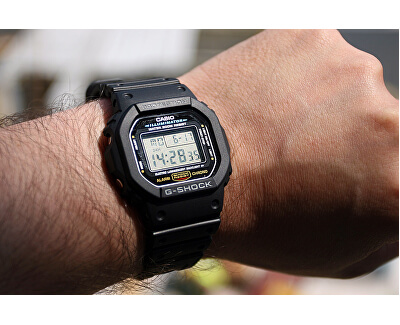 The G/G-SHOCK DW-5600E-1VER