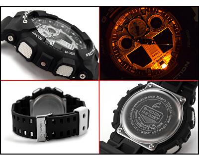 G-Shock GA 100BW-1A