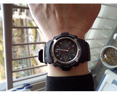 The G/G-SHOCK AWG-M100-1A