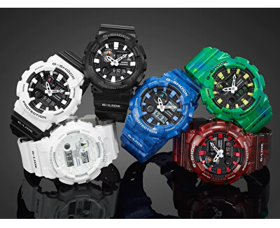 The G/G-SHOCK GAX 100A-7A