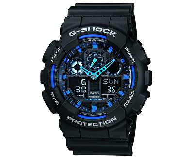 The G/G-SHOCK GA-100-1A2ER