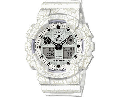 The G/G-SHOCK GA-100CG-7AER Cracked Ground Pattern Special Edition