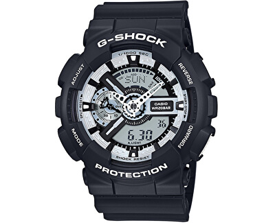 The G/G-SHOCK GA 110BW-1A