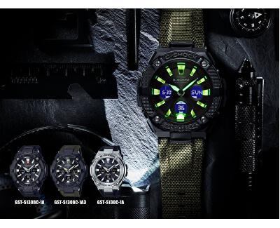 G-Shock G-Steel GST-W130BC-1A3ER Solar Rádiově řízené