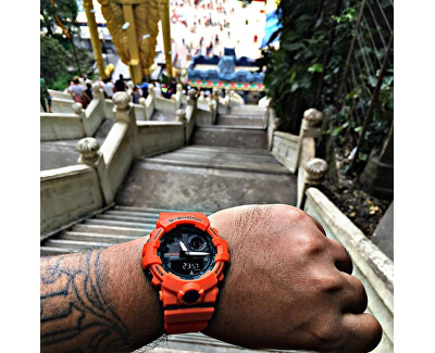 G-Shock Step Tracker GBA 800-4A
