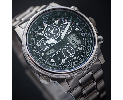 Eco-Drive Pilot Global RC JY8020-52E