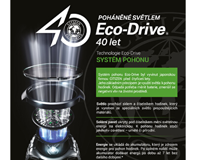 Eco-Drive Power Reserve AW7010-54E