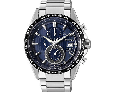 Citizen Eco-Drive Radio Controlled Super Titanium AT8154-82L Doprava ... ad32f3fe57