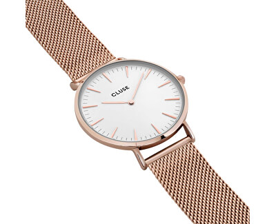 La Bohème Mesh Rose Gold/White CL18112