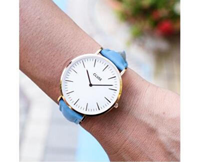 La Bohème Rose Gold White/Retro Blue CL18033