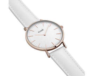 La Bohème Rose Gold White/White CL18042