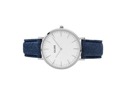 La Bohème Silver White/Blue Denim CL18229
