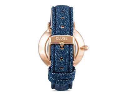 MinuitRose Gold White/Blue Denim CL30029