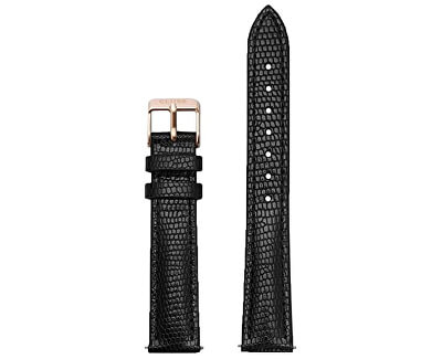 Řemínek Minuit Black Lizard/Rose Gold CLS368