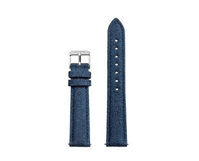 Cluse Řemínek Minuit Blue Denim/Silver CLS331