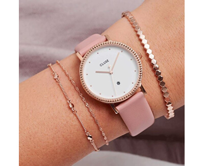 Le Couronnement Rose Gold White/Soft Rose CL63002