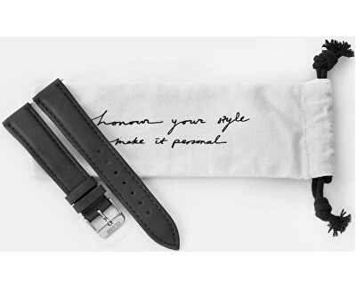 Řemínek La Bohème Black/Silver CLS010