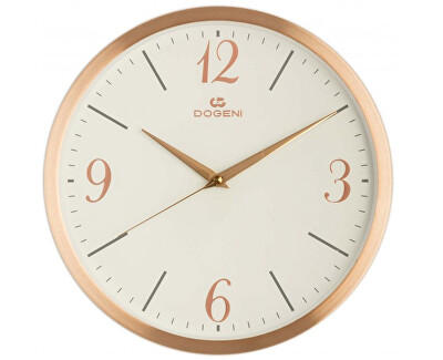 Nástěnné hodiny s tichým chodem WNM004RG