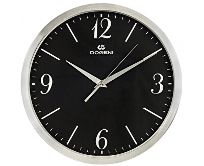 Nástěnné hodiny s tichým chodem WNM004SL