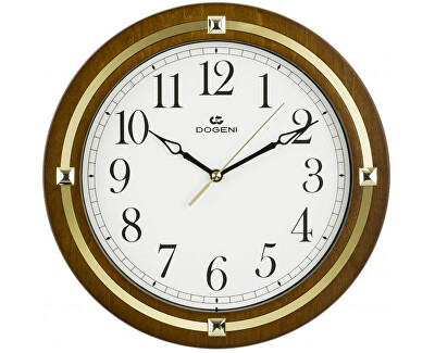 Nástěnné hodiny s tichým chodem WNW003DB