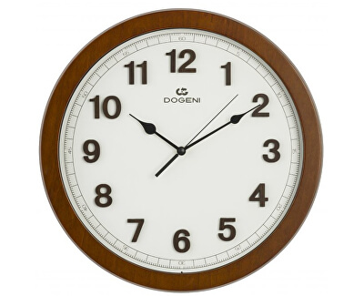 Nástěnné hodiny s tichým chodem WNW011DB