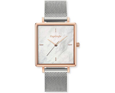 Rose Gold Silver ERWA-PEARL-MSQR