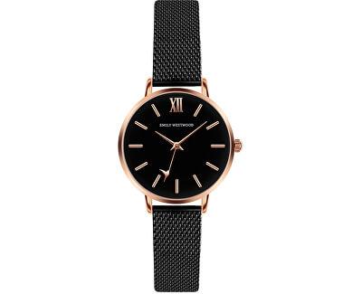 Callum Brae Black Mesh Watch ECG-3314