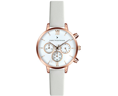 Baalijin White Leather ECN-0014R