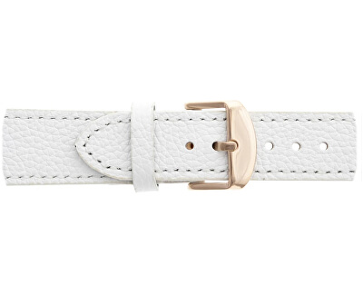 Shispare White Leather Strap FCG-B033R