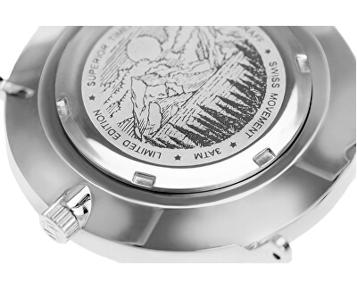 Silver Monte Rosa Silver Mesh FAL-3518