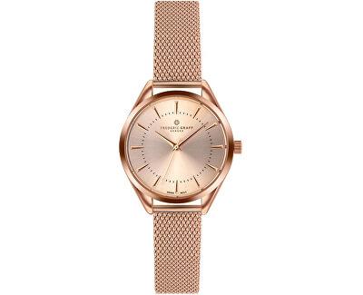 Kanjut Sar Rose Gold Fine Mesh Watch FCE-3214