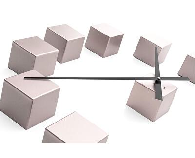 Nalepovací hodiny Cubic Pink FT3000PI