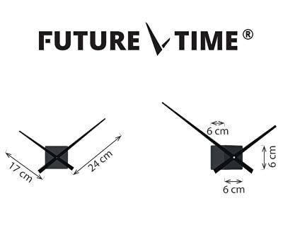 Nalepovací hodiny Cubic Titanium FT3000TT