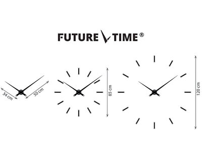 Nalepovací hodiny Modular Chrome FT9100SI