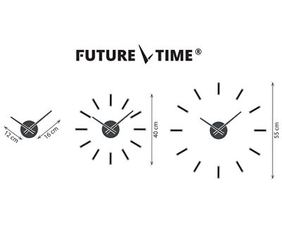 Nalepovací hodiny Modular White FT9400WH